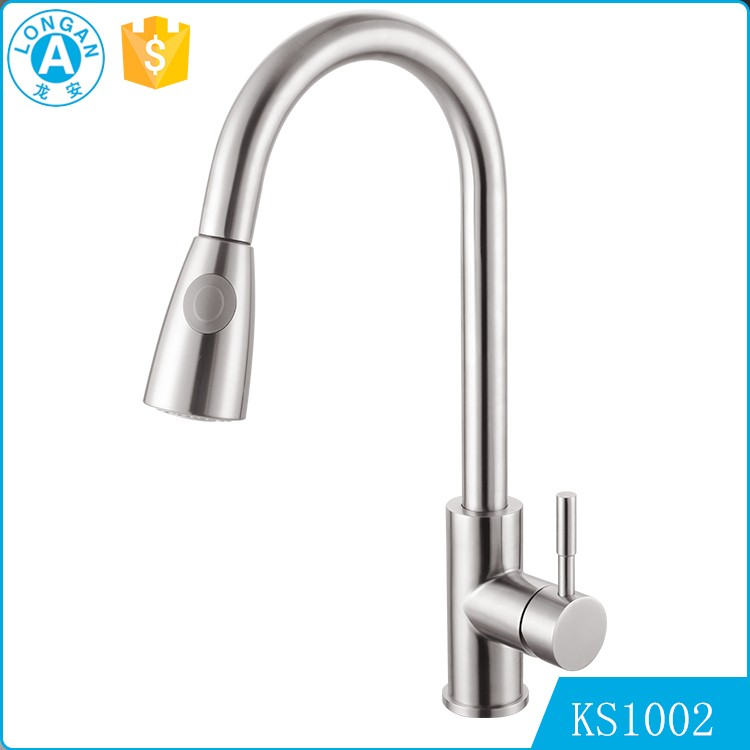 304 Stainless Steel Upc 61 9 Nsf Kitchen Faucet View China Kitchen Faucet Longan Product