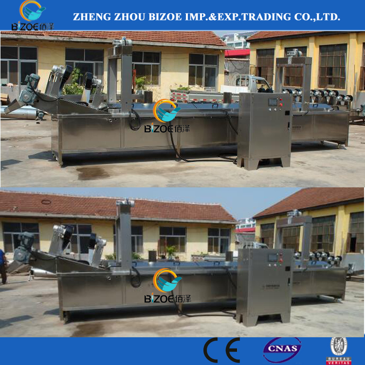 High Efficiency Potato Chips Deep Fryer Machine with Gas /Electric Heating Price