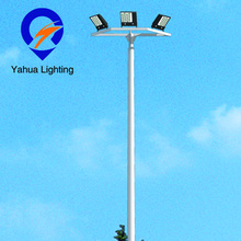 Professional manufacturering projected hot dipped galvanized stadium light poles
