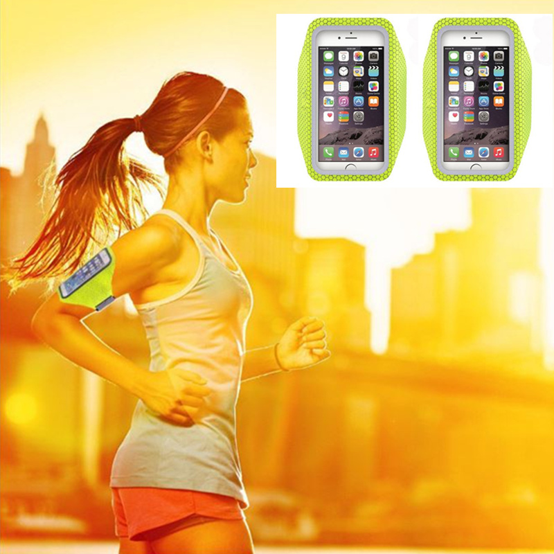 wholesale 5.5 inch ultra thin mobile phones running sport armband good phone holder
