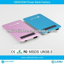 New Hot gifts,touch screen Power Bank,4000mAh ultra thin Universal power bank for samsung galaxy blackberry nokia android phone