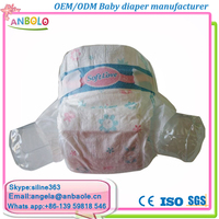 Baby Products Wholesale Dry Soft Touch Surface High Absorbent Baby Nappies Diapers