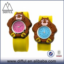 cheap silicone slap watch \ wholesale kids slap watch \silicone slap watch