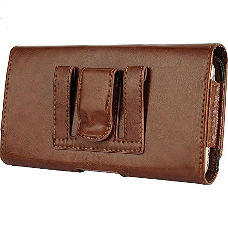 Pu Leather Holster Belt Clip Pouch Case for Apple iPhone 7 Plus