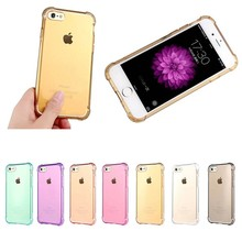 Shockproof Mirror Cover Soft TPU Mobile Phone Case For iPhone 7
