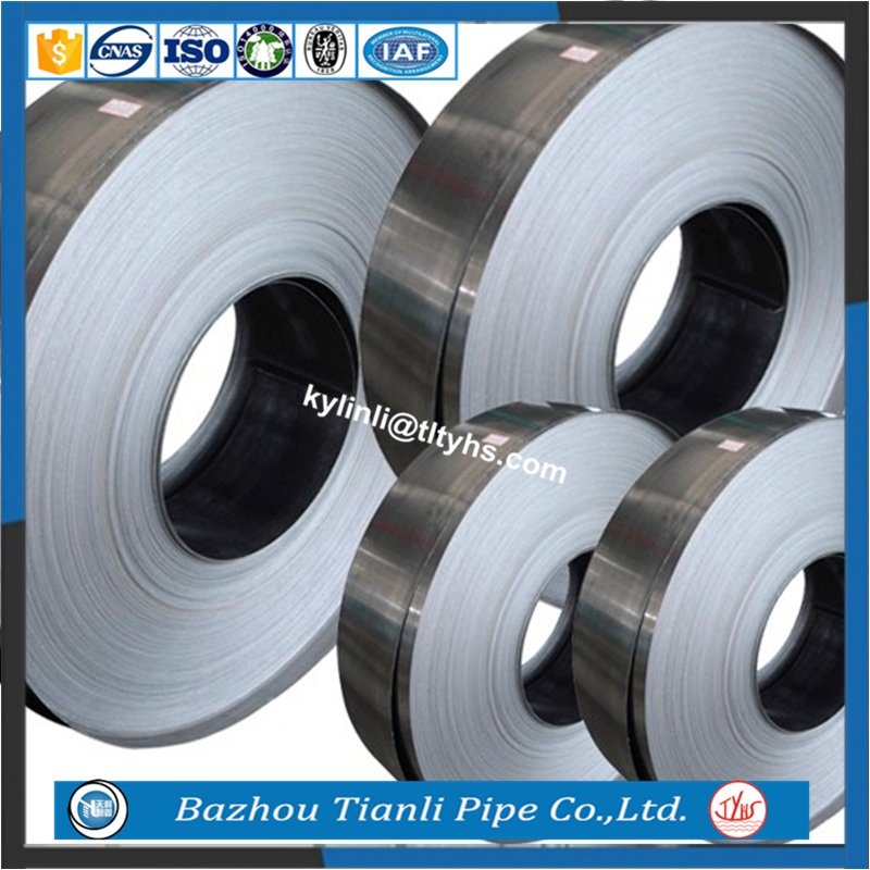 SPCD/ST13/DC03 dold rolled steel coil spring steel strip
