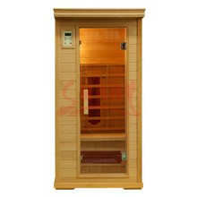 New 1 person standard Far Infrared Sauna cabin indoor sauna ( SS-ISB1011)