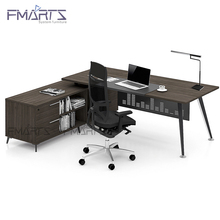 2017 Latest Customized Modern Style Wooden Boss Manager Executive Table Office Desk