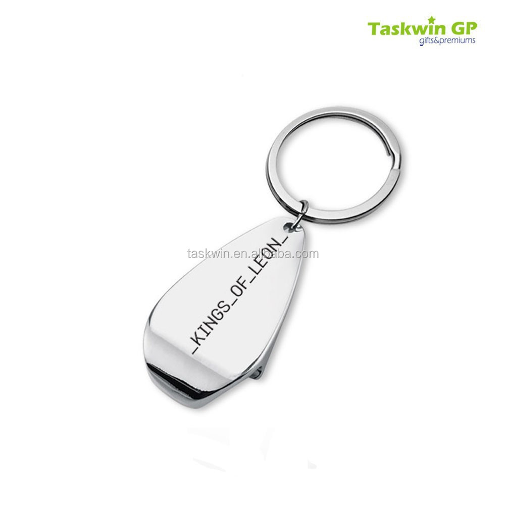 Zinc Alloy Silver Plating Metal Keychain ,keying