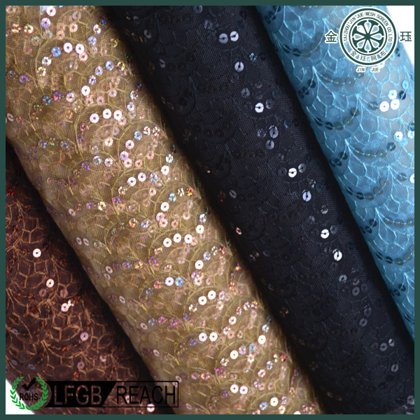 fish scale sequin fabric