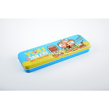 stylish new double layers metal pencil case DMA008