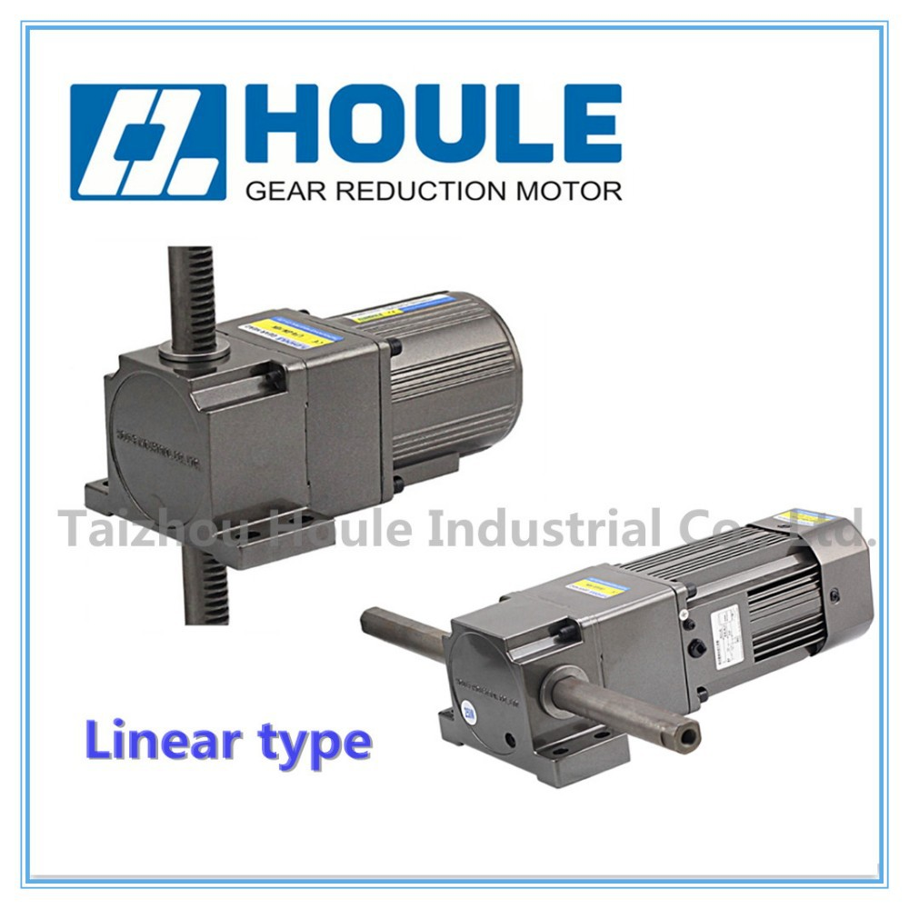 HOULE linear type 25W reducer gear motor with low speed controller