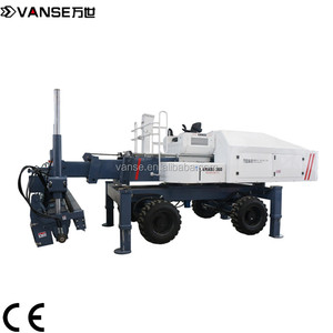 high performance long boom concrete laser screed machine for sale