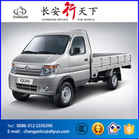 China Changan brand 1.3L gasoline left hand drive 5MT single cabin mini truck for small cargo