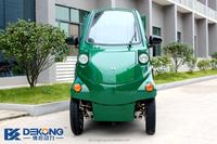 CE aprroved 4 wheel electric vehicle 60V street electric mini cargo van