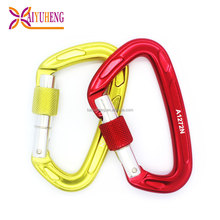 high quality trigger snap hook strenght screwgate climbing carabiner