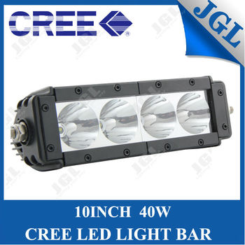 rechargeable battery operated led light bar 40w 12v waterproof 4x4 car led light bar 5jg lg t640. Black Bedroom Furniture Sets. Home Design Ideas