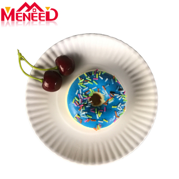 High quality paper looking reusable melamine dessert plates