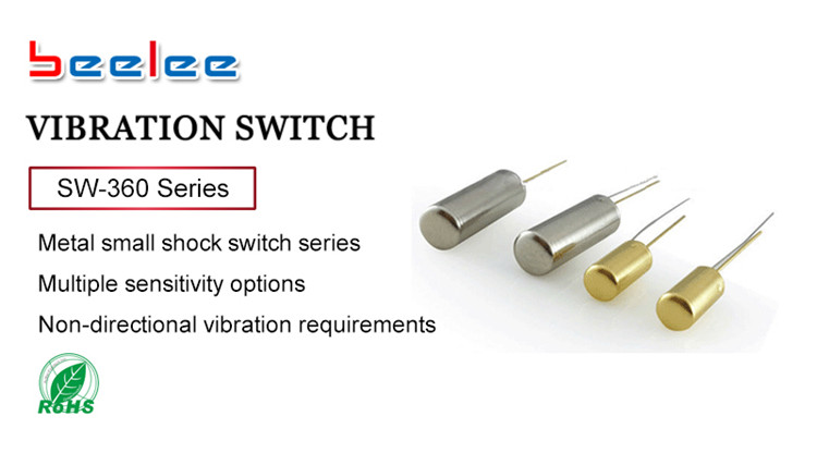 Vibration switch Small SW-360 series light vibration sensor