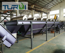 500KG capacity Waste pp pe films recycling washing equipment