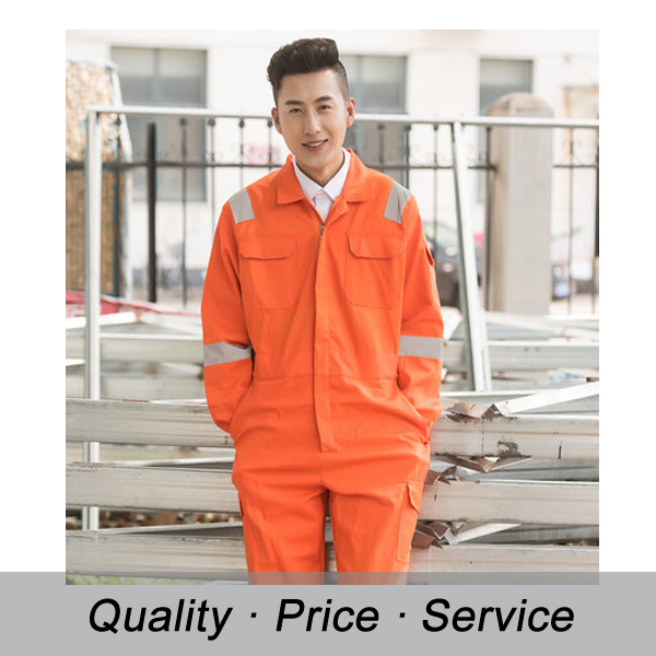 Flame Resistant Coverall for Workwear Clothing