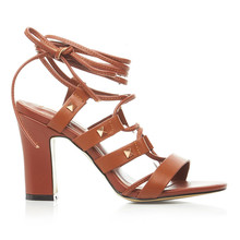 New design roma style fashion summer high heel sandals for ladies