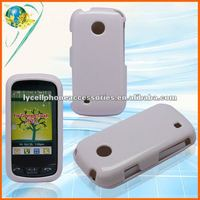 For LG Cosmos Touch VN270 Solid white mobile phone protector cover