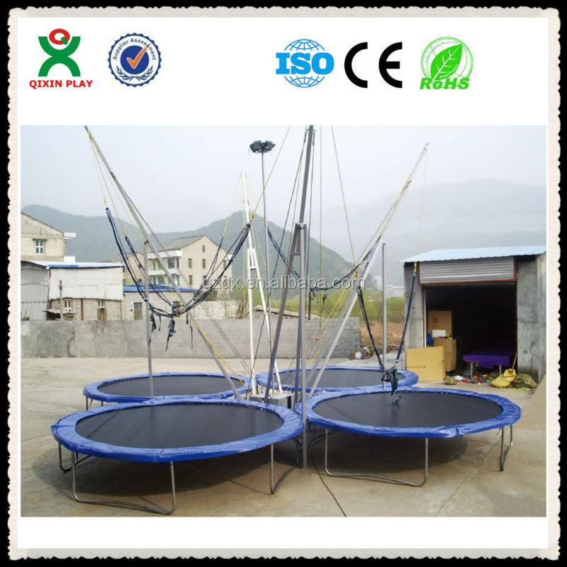 High-grade 4 person exercise trampoline/buy trampoline/cheap trampolines for sale QX-119E