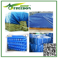 Fire Retardant Heavy Duty Canvas Polyester Tarps For Truck Cover