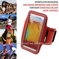 waterproof phone armband case sport case black, red, blue, silver, grey for Apple iphone Samsung Galaxy Note 3 N9000 HTC