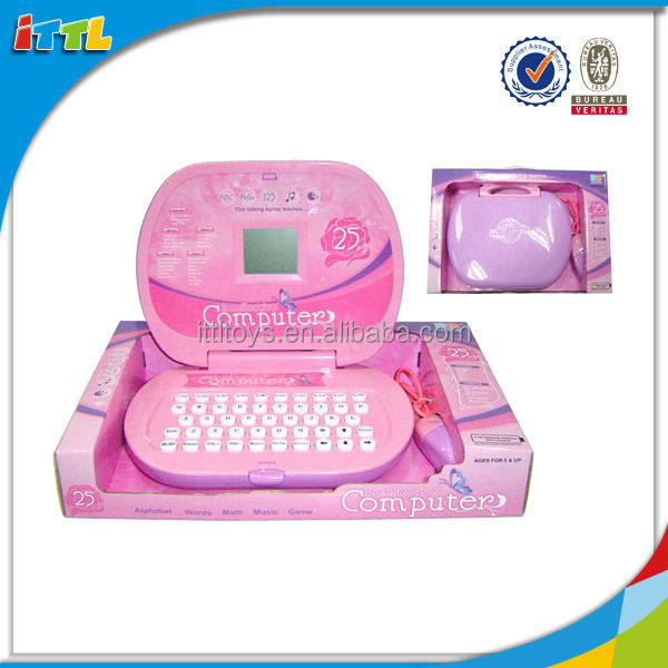 Educational toy kids English learning computer