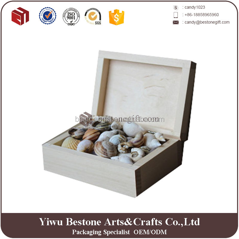 small eco-friendly packaging box rectangle wood box gift container