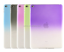 Colorful tpu gradient color cover soft protective case for ipad mini4