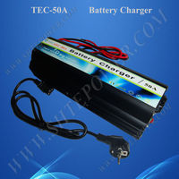 12VDC 50A Lead Acid Battery Charger TEC-50A