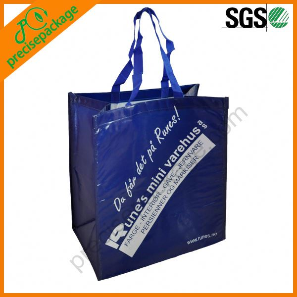 200g art paper laminated shopping bag with handle