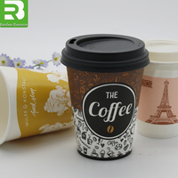 China Hot sale customized 2oZ coffee paper cup for coffee
