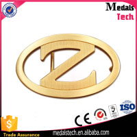 High quality gold plated zinc alloy adjustable cheap custom letter belt buckle z shape China manufacturers