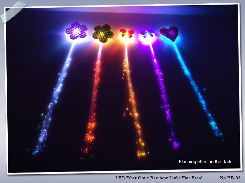 Figure_LED Fiber Optic Rainbow Light Hair Braid_HB-03_6