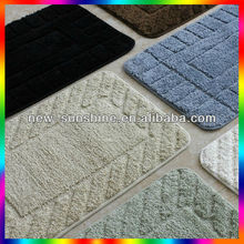 high quality comfortable rubber back anti-slip area rug