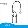 dismantle 2 in 1 bluetooth earphone dual-use wireless earphones with microphone (Wennda Y100)