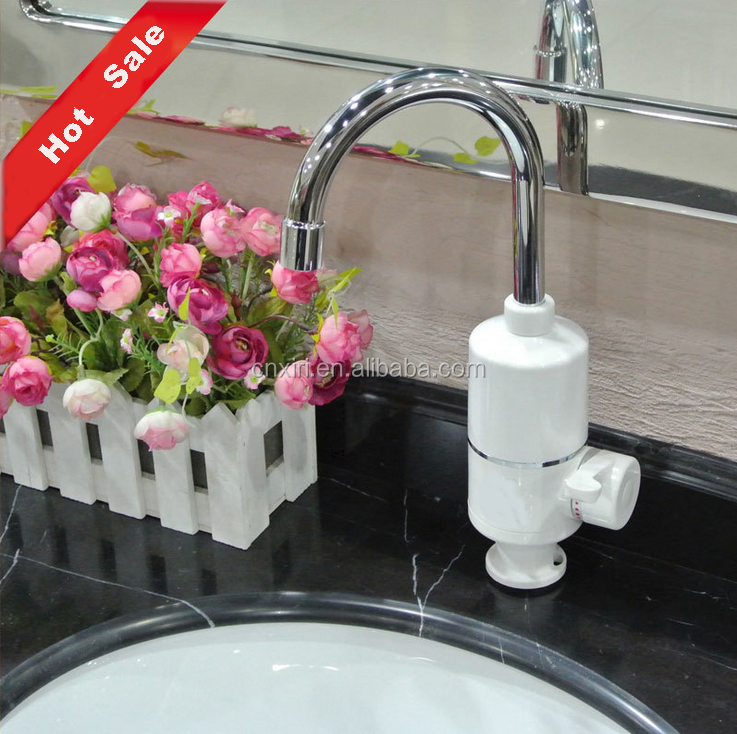 Hot sale New Design electric water taps, Kitchen and Bathroom water heating faucet