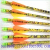 colorful real carbon arrow for archery recurve bow and compound bow