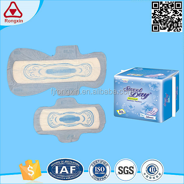 Lady care products speed plus absorption lady sanitary napkin sanitary pad china manufacturer