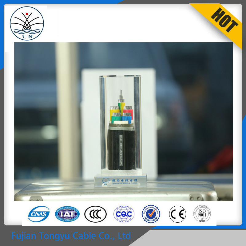 Free Samples XLPE insulated PVC sheathed steel tape armoured power cable, wire braided power cable, underground cable