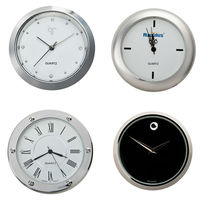 28mm-38mm quartz metal clock insert mini size,hot selling on alibaba website,silver color fashion clock insert of all shapes