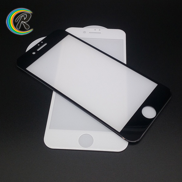 with Retail Package full screen cover tempered glass for iphone 7 plus tempered glass wholesale