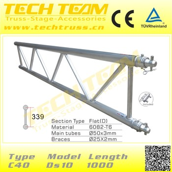 Lighting Flat Good Aluminum 400mm Truss