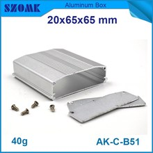 2015 popular product aluminium enclosure metal box project die cast with powder coating for electronic