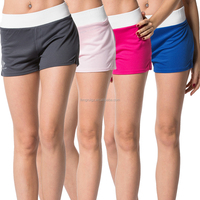 Cody Lundin Manufacturer Custom Dry Fit Wholesale Women Elastic Waist Lounge Shorts Female Polyester Mesh Running Shorts
