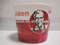 Custom Logo Disposable Paper Chicken KFC Cups